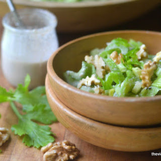 Celery Salad with Walnut Vinaigrette