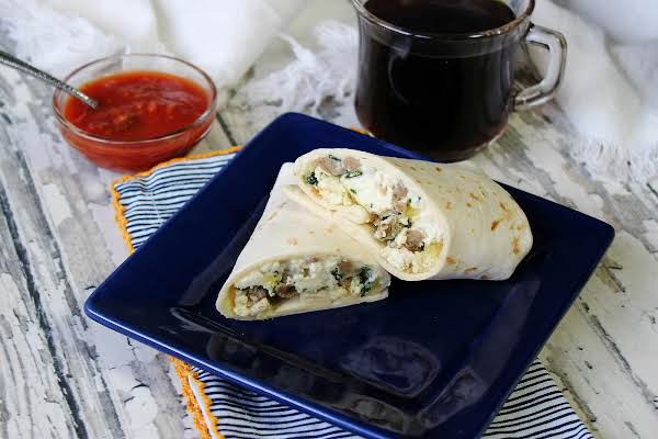 Workday Breakfast Burrito Ready To Eat.
