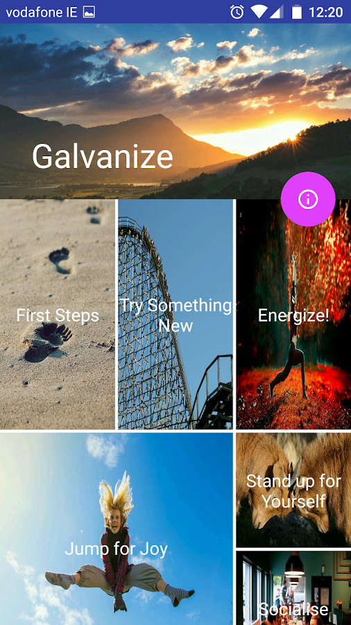 Galvanize- screenshot
