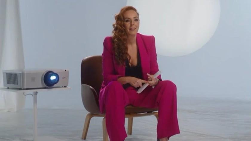 Rocío Carrasco, durante su documental.