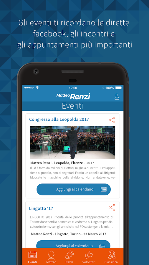Matteo Renzi- screenshot