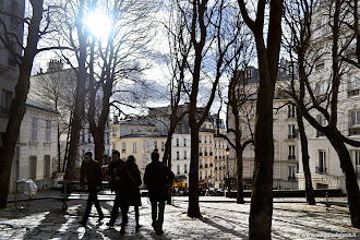 Photo: #PHOTOGRAPHY  Lights and Shadows Montmartre, Paris