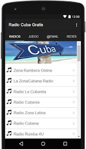 Radio Cuba Gratis screenshot 0