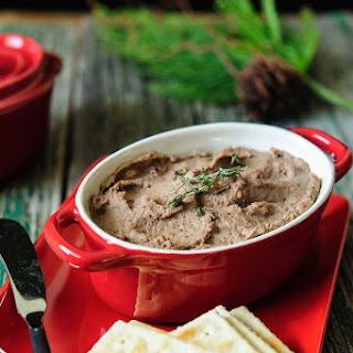 Chicken Liver Pâté with Apple and Thyme.