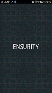 Ensurity - náhled