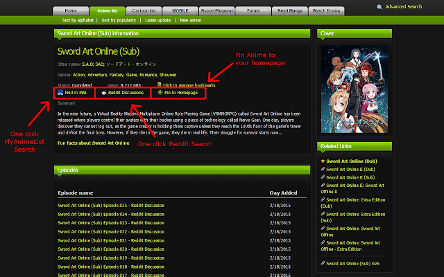 Essentials for kissanime chrome web store adds the ability to toggle onoff certain elements on kissanime such as ads and social media buttons as well as adding new features ccuart Images