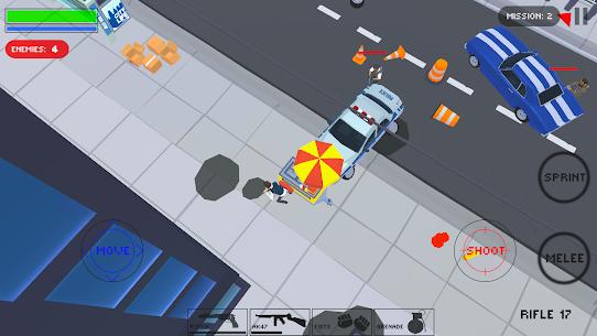 Polygon Cover Strike: Top-Down Shooter Mod Apk (Mod Menu) 6
