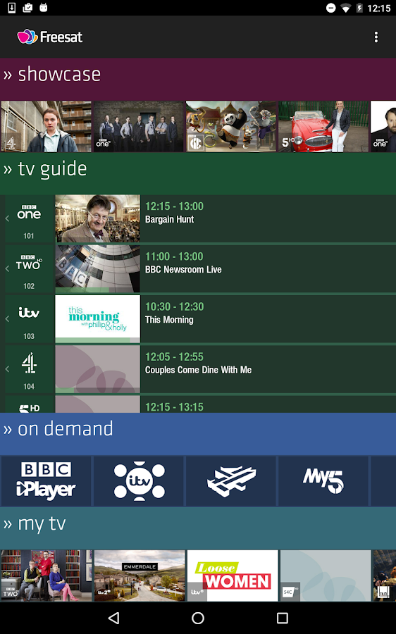 Freesat- screenshot