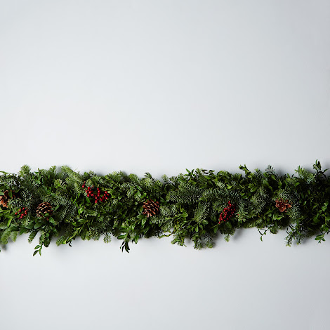 Fir & Canella Berry Holiday Garland