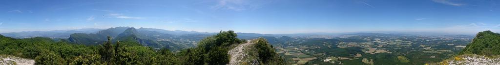 Photo: Panorama vanaf Roche Colombe