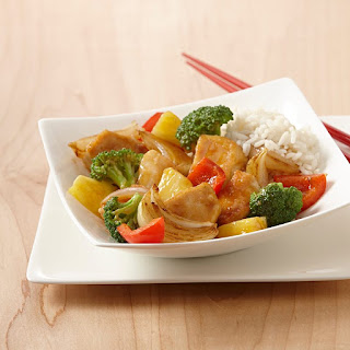 Honey Pineapple Chicken Stir-Fry.