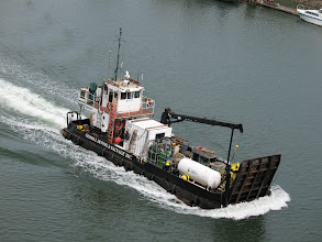 Photo: Day 1: Tug boat picture (taken for my mom).