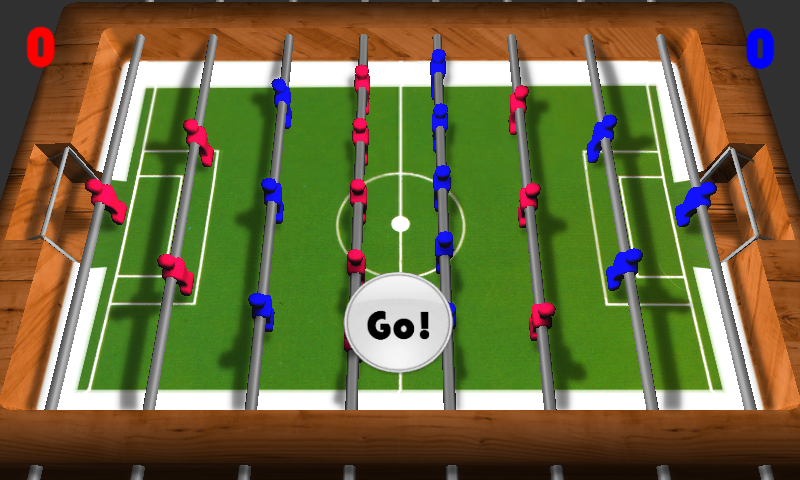 Скриншот Foosball 3D