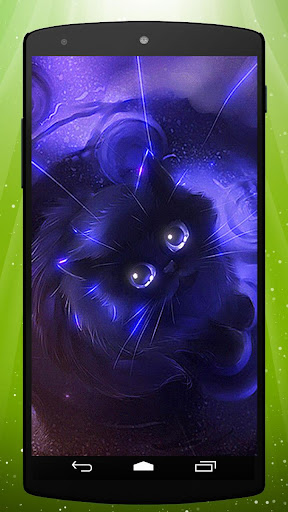 Witch Cat Live Wallpaper