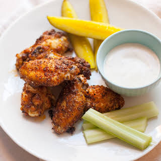 Pickle Brined Chicken Wings.