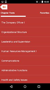 Company officer 5th ed study guide apps on google play screenshot image fandeluxe Image collections
