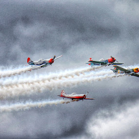 by Jose Figueiredo - Transportation Airplanes ( airplanes, norway, air show )