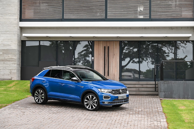 The new VW T-Roc slots in between the entry-level T-Cross and mid-tier Tiguan. Picture: SUPPLIED