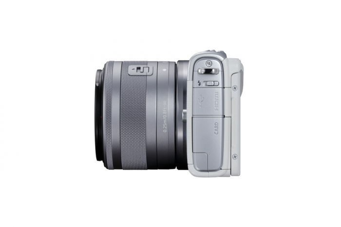 Беззеркальная камера CANON EOS M100 + 15-45mm IS STM White (2210C048)