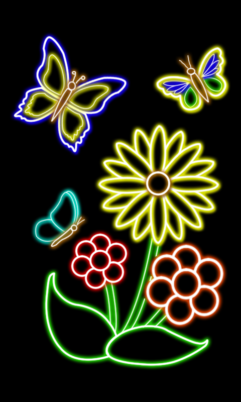 Glow Draw- screenshot