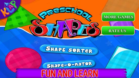 Preschool Shapes Pro - náhled