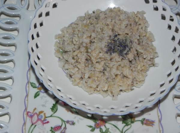 Easy Lavender Or Jasmine Rice