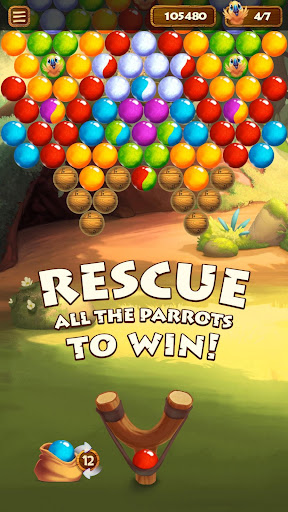 Forest Bubble Shooter Rescue - screenshot