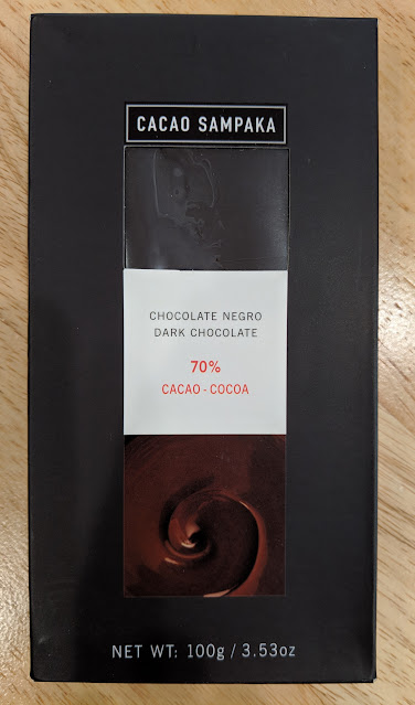 70% cacao sampaka bar