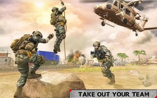 Army Sniper 3D Game - Us & Iran Border War  captures d'écran 2