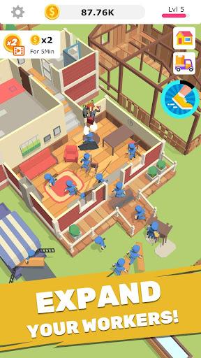 Idle Decoration Inc - Idle, Tycoon & Simulation screenshot 2