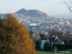 Photo: City of Edinburgh from Corstorphine Hill