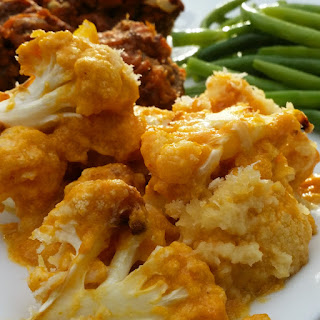 Roasted Cauliflower Pumpkin Casserole