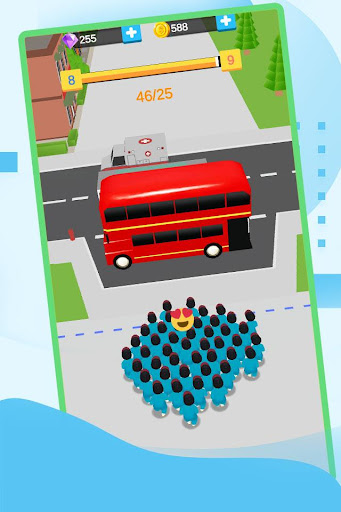 Crowed BUS- City Strategy Crowd, Popular Wars 0.2.3 screenshots 3