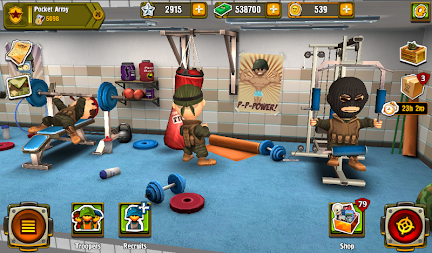 Pocket Troops: The Expendables APK screenshot thumbnail 20