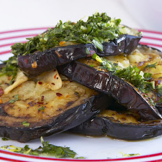 Roasted Garlic and Chili Eggplant