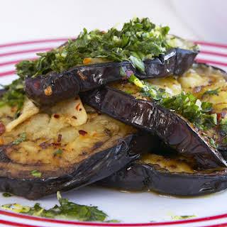 Roasted Garlic and Chili Eggplant.