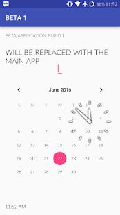 M SIMPLE CLOCK BETA screenshot
