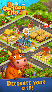 Cartoon City 2: Farm to Town.Build Mod Apk (Unlimited Money) 6