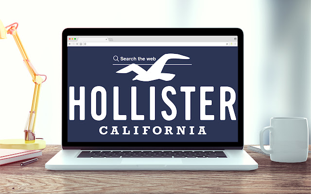 Hollister New Tab Music Theme
