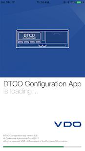 Smart Link üzerinden DTCO® 3.0 Yapılandırması Ekran Görüntüsü