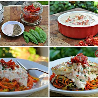 Sun-dried Tomato Coconut Cream Sauce.