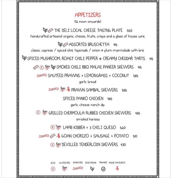 Smoke House Deli menu 6