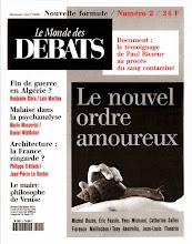Photo: Le Monde des Débats, 1999, direction artistique