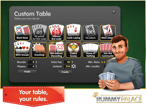 Rummy (Free, no Ads)  screenshots 5