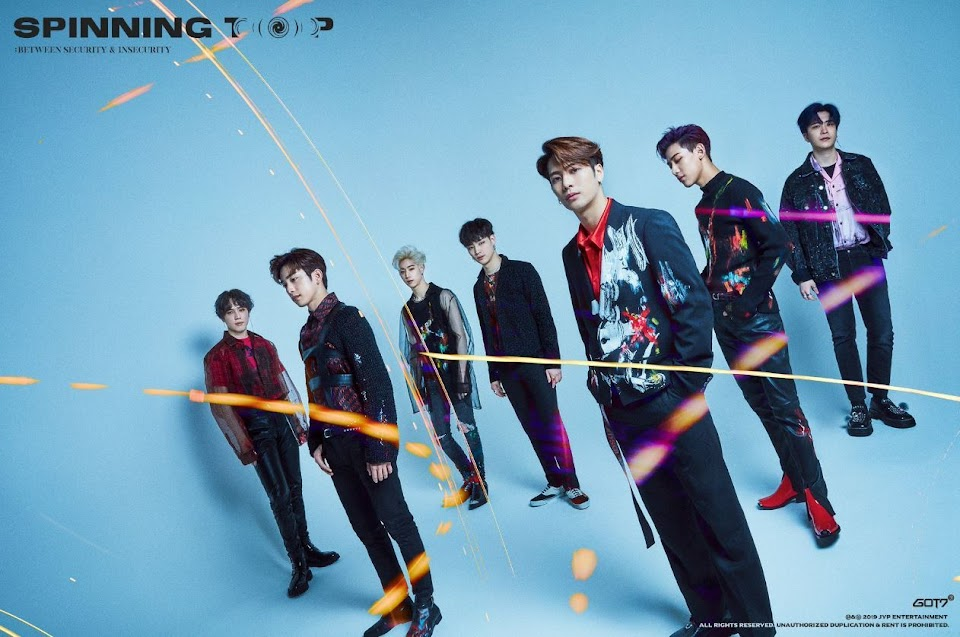 got7-spinning top