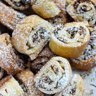 Fig and Walnut Stuffed Cookies.