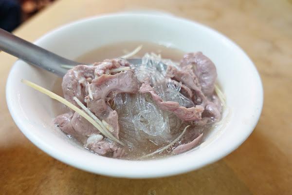 阿明豬心冬粉 保安路 台南人氣排隊小吃 不過還是基隆的孝三路豬心好吃!