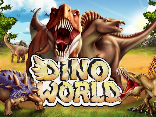 DINO WORLD - Jurassic dinosaur game ss1