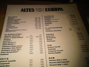 Photo: Here's the beer menu.