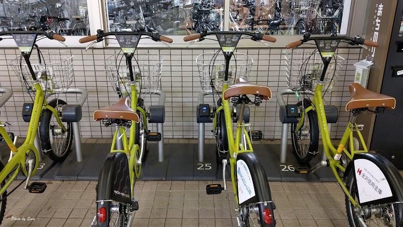 日本 JR金澤站 公共自行車 租借